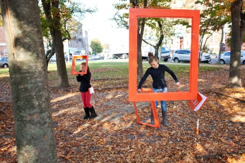 Frame Installation; Photo Credit: Pamela Joye